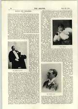 1896 Dr David Rennet Mr Cooper Cliffe Mr Robert Hillyard Cecile Brani