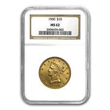$10 Liberty Gold Eagle Coin - Random Year - MS-62 NGC - SKU #1125