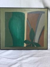 "William Willis Original  Oil On Board ""Small Picture Book"" Painting"