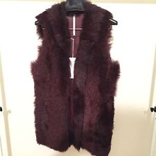 ***NEW** GENUINE TRUTH AND PRIDE MERLT WOMENS FUR VEST SIZE L TL5048 NORDSTROM