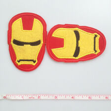 1pcs Super Hero Iron Man Iron On Sew On Machine Embroidery Patches Appliques