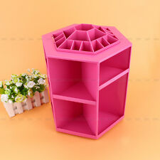 360 Degree Spin Cosmetic Makeup Organizer Box Storage Rack Case 3Colors Hot Sale