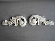 LARGE DECORATIVE FURNITURE ORNATE PLASTER SCROLL MOULDING