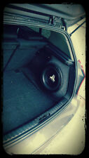 Bmw E87 E81 1 series hatch Sound upgrade speaker sub 12 10 stealth enclosure !