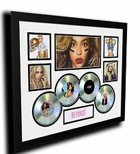 BEYONCE SIGNED LIMITED EDITION FRAMED MEMORABILIA