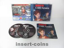 Residente Evil (German version) - Sega Dreamcast/dc/usk18/pal/s15