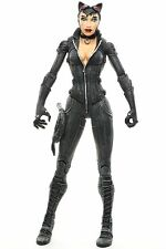 "DC Direct Batman Arkham City CATWOMAN 6.5"" Action Figure 2012 glued knee"
