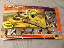 New Matchbox Supersonic Airport Play Set Includes 10 Planes