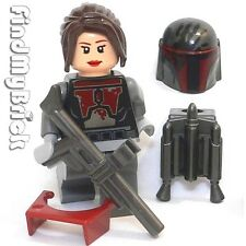 SW672 F Lego Bounty Hunter Custom Shae Vizla with Tattered Armor Pattern NEW