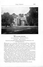 1912 Woodlands Stanmore Miss Cowper Firs Stratford-upon-avon School Ad