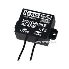 Kemo M073N Motorrad Alarm Lagesensor Roller Motorroller Sicherung Alarmanlage