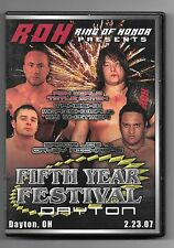 ROH Fifth Year Festival Dayton 5th Ring of Honor PWG NJPW Daniel Bryan WWE OOP!