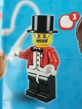 Lego 8684 Series 2 #3 Circus RINGMASTER figure Collectible Minifigure Sealed