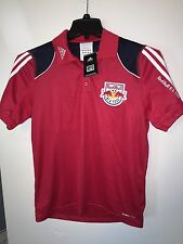 NEW w TAGS MLS New York Red Bulls ADIDAS JERSEY Adult SMALL NWT Soccer