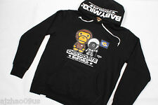 New A Bathing Ape Baby Milo x CHOCOOLATE Mens Hoodie Sweater 100%AUTH L LTD RARE