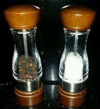 Cole and Mason Keswick model salt & pepper mill wooden & stainless steel NEW