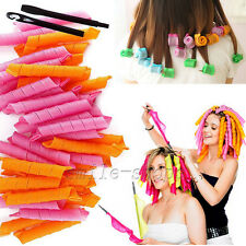 """40pcs Hot Sale 21"""" Magic Curlers for Curly Hair DIY No Heat Cheap Tools"""