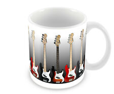 BASS GUITAR     COFFEE MUG No2    FREE PERSONALISATION