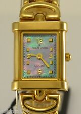 Jacques Lemans Damenuhr / Quartz  / 10 Mic Gold plated