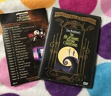 The Nightmare Before Christmas (DVD, 2000, Special Edition) DISNEY. •MINT•