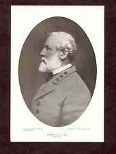 General Robert E Lee Portrait Vintage Oval Print