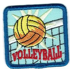 Girl Boy Cub VOLLEYBALL Net team game Fun Patches Crest Badge SCOUT GUIDE match