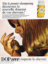 PUBLICITE ADVERTISING 055  1966  DOP  SEVE  shampoing