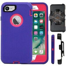 Apple iPhone Full Protection Defender Rugged Case Cover(Belt Clip Fits OtterBox)