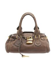 Chloe Paddington Brown Leather Satchel