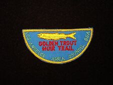 BOY SCOUT  LOS ANGELES A.C.  50'S GOLDEN TROUT MUIR  TRAIL AWARD  CALIF