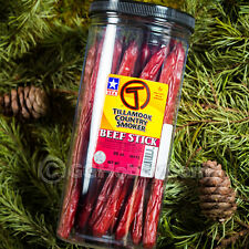 Tillamook Beef Sticks 20-Count Beef Jerky Sausage Hiking Hunting Trails Snack