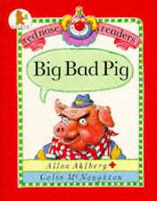 Big Bad lectores de nariz de cerdo (Rojo), Ahlberg, Allan, Libro Nuevo