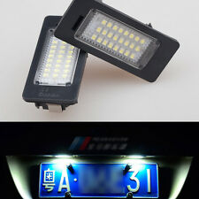 2x Error Free LED LICENSE PLATE LIGHT For BMW E70 X5 E39 E60 E90 E88 E92 E93 M3
