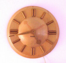 Vintage SETH THOMAS Wall Clock PLAZA Mid Century Modern Art Deco-Parts Repair