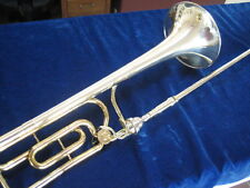 "SUPERB KING 3B-F ""SILVER SONIC ANNIVERSARY"" TROMBONE w/STERLING SILVER BELL"
