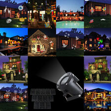 12 in 1 Pattern LED Spotlights Waterproof Garden Lamp Christmas Projector Lights