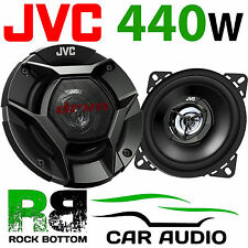 "JVC Peugeot 206 CC 2000 - 2007 Rear Quaters 4"" 10cm 2 Way 440 Watts Car Speakers"