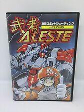 MUSHA ALESTE Complete Sega Megadrive Japan Jpn