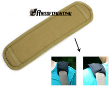 Looyoo Tactical CUSHION PAD Comfort non-Slip for Shoulder Strap Backpack TAN A