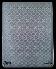 Sizzix embossing folder mousseux grandes fits cuttlebug & wizard