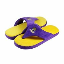 NWT LSU Tigers Comfy Flop Sandal Slippers by Comfy Feet - Size Adult XL