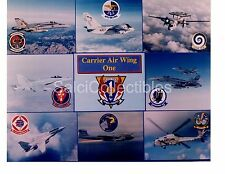 USS Nimitz CVN-68 Aircraft Carrier Airwing One Navy Ship Original Photo 8x10