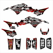 TRX 250R Graphics 250 R custom decal sticker kit #2500 Red