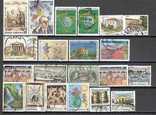 R3981 - GRECIA 1987/95 - LOTTO 20 DIFFERENTI - VEDI FOTO