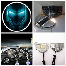 2xCar Door Wireless LED Welcome Laser Iron Man Logo Ghost Shadow Projector Light