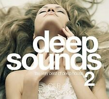 DEEP SOUNDS 2 (VERY BEST OF DEEP HOUSE) /CLEAN BANDIT/MR.PROBZ 2 CD NEW+