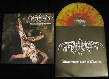 "Svarttjern ""Misanthropic Path of Madness"" LP (splatter) (NEU / NEW)"