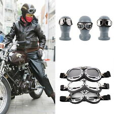 Hot Anti-UV Safety Motorcycle Scooter Pilot Goggles Helmet Glasses Motocross OE