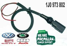 VW 2 Pin connector with 30cm tail leads 1J0973802 FREEPOST + Finishing Kit