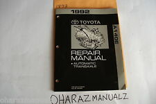 1992 TOYOTA A140E Camry Automatic Transaxle Repair Manual